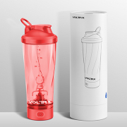 An innovative Chinese company and a great new electric shaker bottle easy to use and clean!