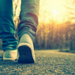 How many kilometers is suitable for a man to walk every day