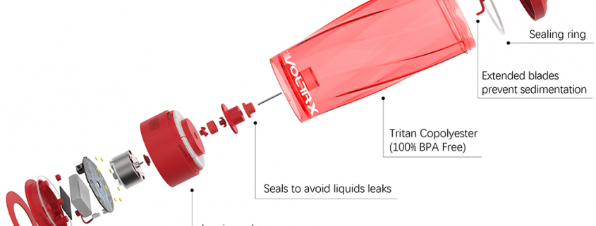 electric shaker cup