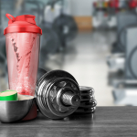 Add protein in fruit smoothie with protein shake mixer electric?